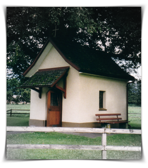 Chapel in Oberriet